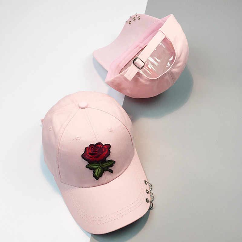 Feitong 2019 casquette de Baseball femmes fleurs mode décontracté broderie impression casquettes hommes Hip Hop chapeaux Sport Snapback casquettes marque cadeaux