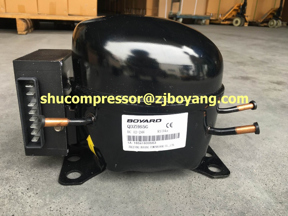 12V/24V DC compressor for solar refrigerator freezer car fridge portable cooler freezer camping fridg mini refrigerator made in china boyard 12 24v compressor of portable air conditioner for cars portable freezer portable drink cooler