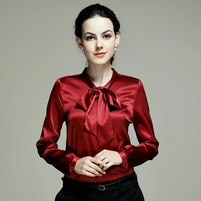 Sleeveless Plus Size Silk Cowl Blouse Wrap Top Elegant Office Wear