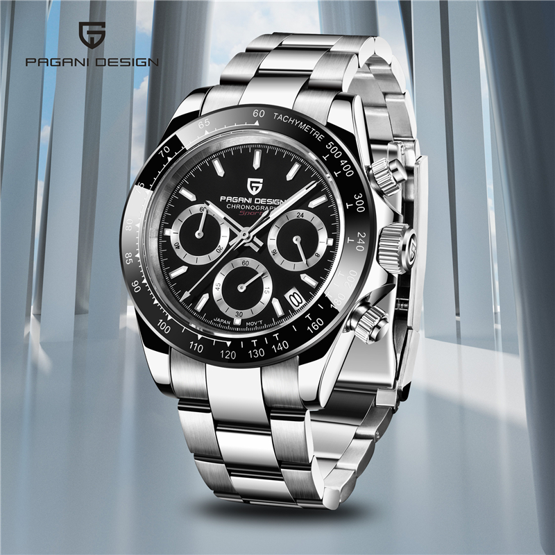 New Men's Watches PAGANI DESIGN Business Wristwatches Mens Top Luxury Brand Sport Chronograph Men Waterproof Clock Reloj Hombre