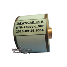 1.5 UF 2500VDC 100 KHZ 100A Capacitores Ressonantes Capacitor/Capacitor de Alta Tensão Grande Corrente de Freqüência de Ressonância