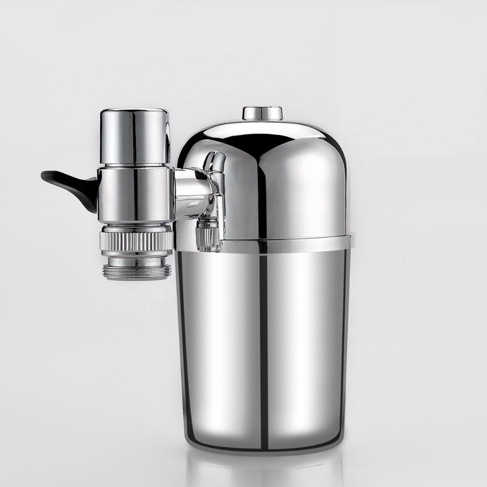 Tap Water Purifier Chlorine Filter Faucet Purification Activated Carbon Wheelton Kitchen Water Filter Clarifier Cleaner F