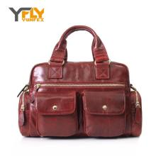 Y-FLY 2016 Hot Sale Women's Handbags Oil Wax Cowhide Leather Women Messenger Bags Female Casual Travel Bags Ladies Tote HC256
