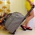 women Duffle bag Luggage Weekend Travel bag Large capacity Handbag Organizer with drawbars men fashion totes high quality