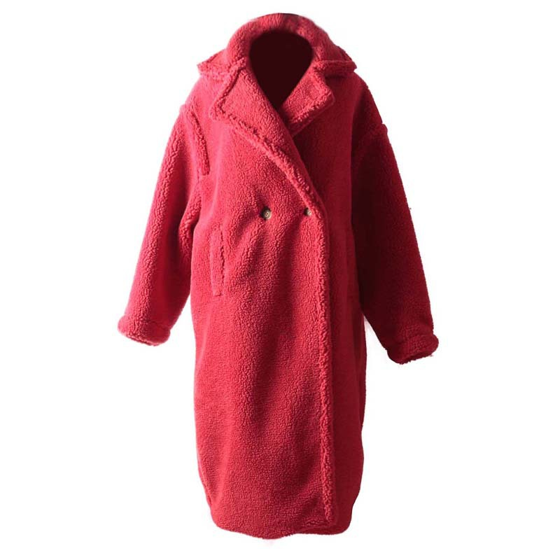 Europe De Complet Lyh1614 Couleur down Mélange Casual Automne Coffee xitao Lyh1614 2018 Lyh1614 Solide Collar Femmes Turn Lseeve red Boutonnage Double Longue Nouveau pink Mode wx4XI