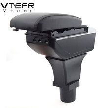 Storage-Box Arm-Rest Terrano-Accessories Nissan Center-Console Vtear for Car Decoration