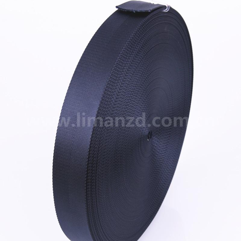 tmavě modrá čistá nylonová páska 100% hot výprodej 38mm