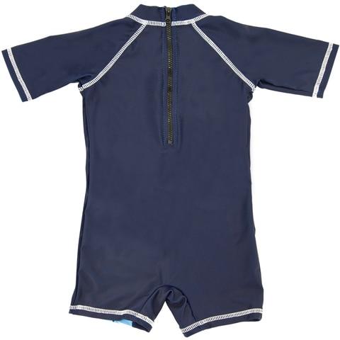kavkas baleia impressao bebe roupa de banho