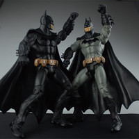 Free Shipping 2 Style Super HeroThe Dark Knight Rises Batman PVC Action Figure Toys Model Dolls