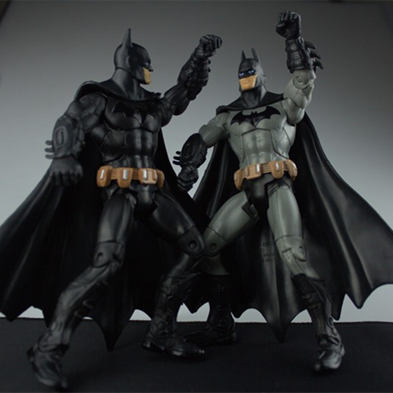 Free Shipping 2 Style Super HeroThe Dark Knight Rises Batman PVC Action Figure Toys Model Dolls Gifts 718cm GOF5667 free shipping 7pcs set lovely bambi pvc action figure model toys dolls children toys class toys christmas gifts dsfg077