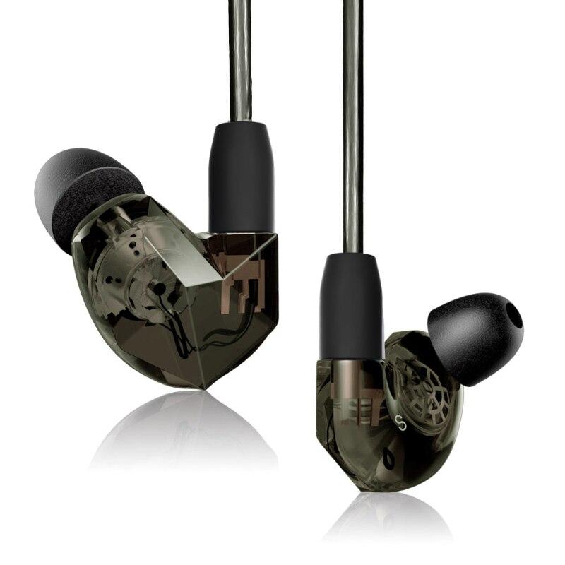 Fones De Ouvido VSONIC NOVO VSD3S Profissional Noise-isolamento Inner-Ear Fone de Ouvido Estéreo de ALTA FIDELIDADE de Graves Aprimorada