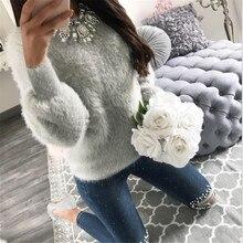 Harajuku Japanese Kawaii Hoodies Women Sweatshirts Warm Wool Winter Plush Lovely Hooded Hoodies Sudaderas Mujer