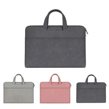 Сплошной цвет ПУ тетрадь сумка матовый лайнер для ноутбука macbook pro 13 15,6 14 дюймов чехол сумка-чехол для ноутбука интимные аксессуары