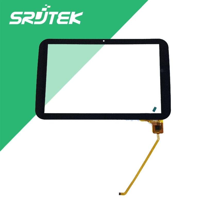 Srjtek New 10.1 For QUMO Sirius 1001 Tablet Touch Screen Touch Panel digitizer Glass Sensor Replacement Free Shipping original new qumo quest 503 touch screen front panel digitizer glass sensor replacement free shipping