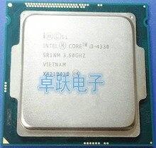 Intel Core i3 4330 3.5GHz 4M Dual Core desktop processors Computer CPU Socket LGA 1150 scrattered pieces free shipping