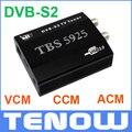 Armazém UE Grátis! Caixa de TV DVB-S2 HD Receptor de Satélite TV TBS5925 USB, USB Original Caixa de TV suporta VCM, CCM, ACM e 32 APSK