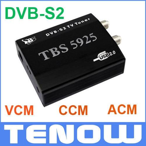 EU Warehouse Shipping! HD Satellite TV Receiver TBS5925 USB DVB-S2 TV Box,Unique USB TV Box supports VCM,CCM,ACM and 32APSK