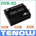 UE Envío de Almacén! HD Receptor de TV Por Satélite TBS5925 DVB-S2 TV Box USB, Única Caja de TV USB soporta VCM, CCM, ACM y 32 APSK