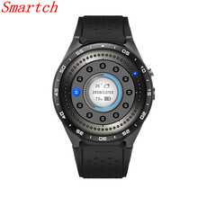 Smartch KW88 Smart watch Android 5.1 MTK6580 CPU 1.39 inch 3G GPS Wifi Smartwatch for Samsung Huawei Phone Watch PK GT88 KW18