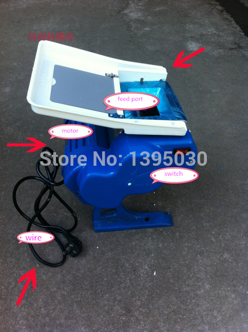 Electric Meat Slicing Machine Meat Slicer Meat Grinders For Sale Home Use Production: 50 Kg/hour цена