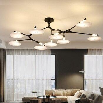 Moderne wohnzimmer deckenleuchten led-hängeleuchte leuchten ...