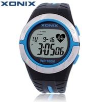 XONIX H Eart Rate Monitor U Nisexกีฬานาฬิกากันน้ำ100