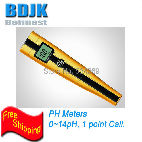 0~14PH Digit PH Meters with IP57 Waterproof & Auto Calibration Handheld Cheap PH Tester цена