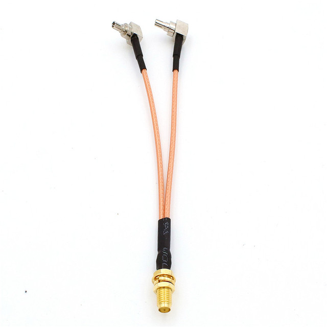 Коаксиальный кабель amtunnel sma к crc9/ts9/sma/rp 12 см