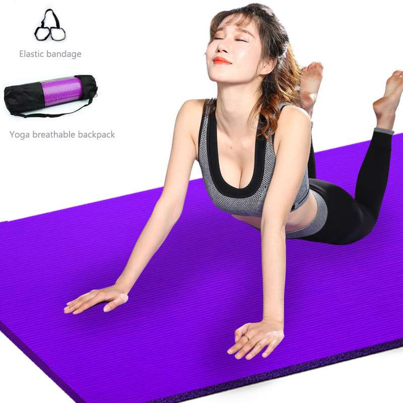 Yoga Mat Mesh Bag 183*61CM Yoga Mat Mesh Lengthen Widened Yoga Bag Net Bag Net