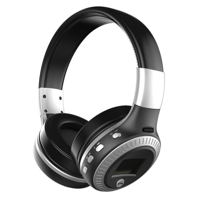 Zealot B19 Schermo LCD Wireless Cuffie Bluetooth Handsfree Headset Con  Microfono Radio FM Slot Per Schede f887daea3cce