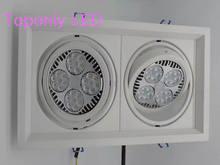 35w Par30 Osram led spotlight bulb E27 track lighting souce AC85-265v color white 2800Lm to replace 200w halogen spot lamp 50pcs