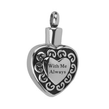 With Me Always Urn Pendant