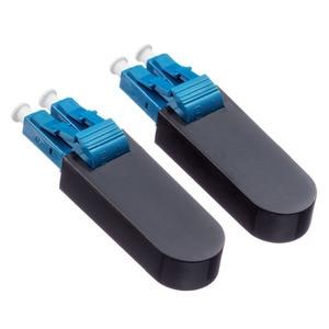 Image 2 - LC UPC Connector Duplex SM(9/125) OM1 Multimode(62.5/125) Fiber Loopback Module Tester LC adapter