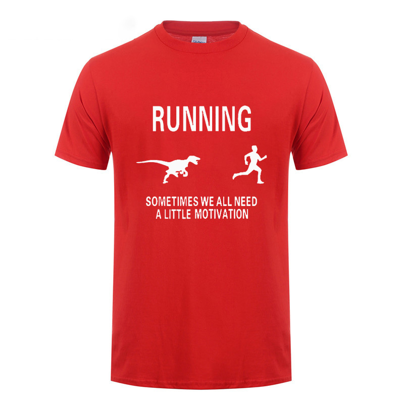 Dragon Running Sometimes We All Need A Little Motivation T Shirt Funny Birthday Gifts For Men Boyfriend Husband Brother In Shirts From Mens