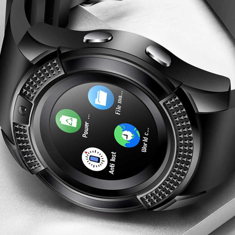SmartWatch Bluetooth Smartwatch Touch Screen Wrist Watch with Camera/SIM Card Slot, Waterproof Smart Watch DZ09 X6 VS M2 A1