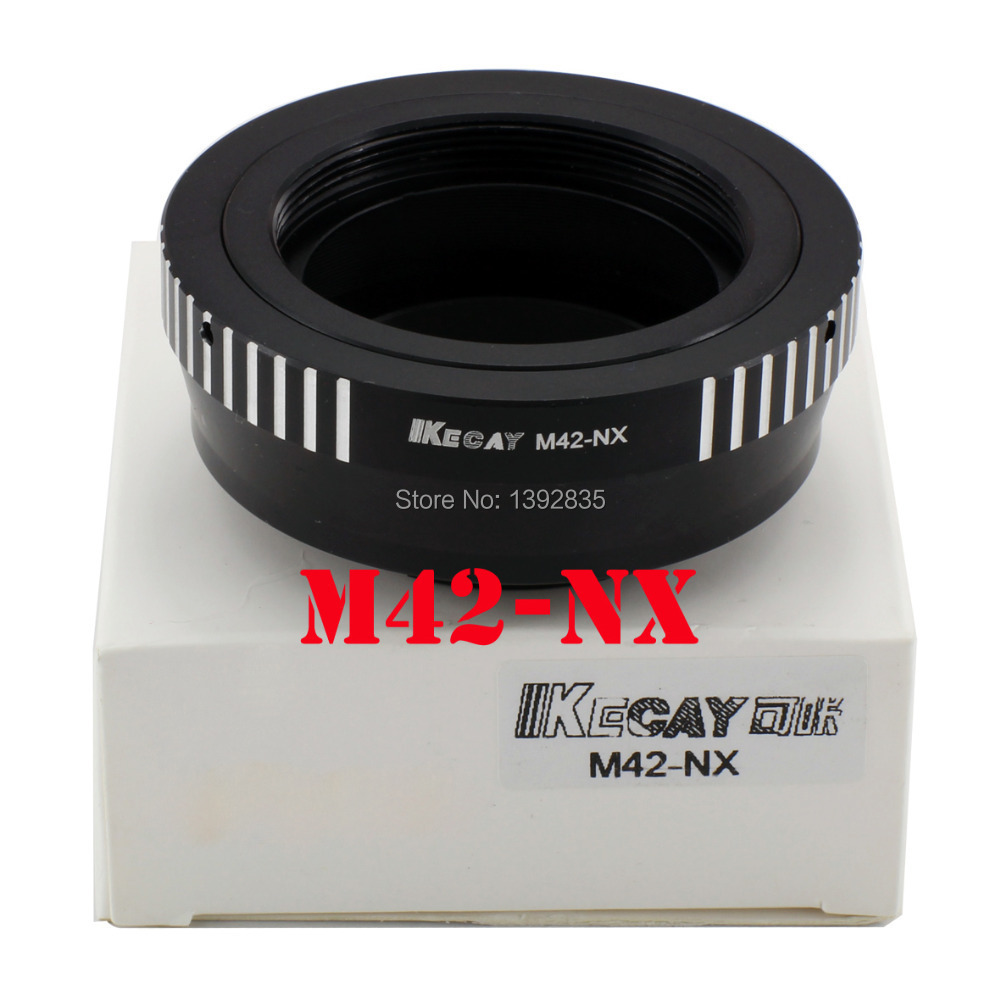 Kecay High-Precision M42-NX lens adapter for M42 Screw Lens to for Samsung NX Mount Adapter NX10 NX11 NX5 NX100 NX210 NX1000