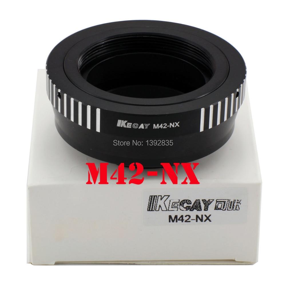 Kecay alta precisión M42-NX lente adaptador para M42 lente de tornillo para Samsung NX Mount adaptador NX10 NX11 NX5 NX100 NX210 NX1000