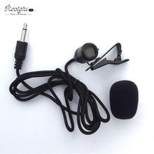 OEM Top quality metal lapel Lavalier LJM-200 microphone REOTGTU MIC Mini Portable Microphone  Free Shipping