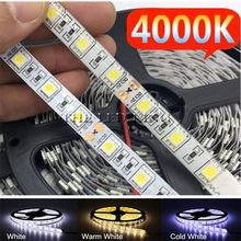 LED Strip Light 5050 DC 12V RGB RGBW RGBWW 12 V 5 M Volt Waterproof Flexible 60LED/M Light Led Strip Tape Lamp Ribbon Backlight(China)