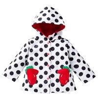 Sping jaquetas menina para menina corta-vento à prova de chuva ao ar livre com capuz crianças roupas de criança à prova d' água casacos de bebê meninas outwear vento
