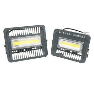 Image 3 - גבוהה בהיר LED הארה 100W 70W 50W 30W הארה IP66 איטום AC220V LED רפלקטור LED חיצוני תאורת גן מנורה