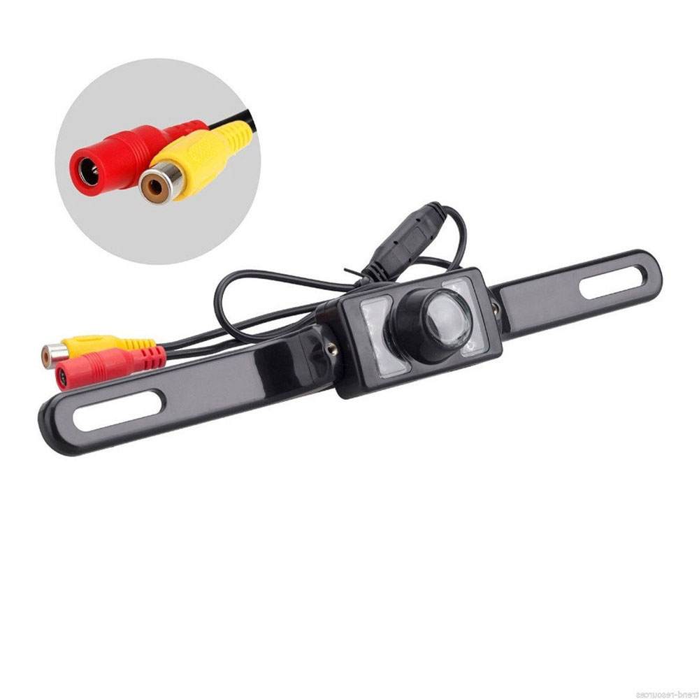 Waterproof Night Vision Reverse Rear View LED IR Color CMOS Car Camera