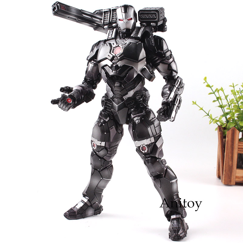 Action Figure Marvel Universe Variant Play Arts Kai Action Figure PVC War Machine Play Arts Collection Model Toys for Boys цена
