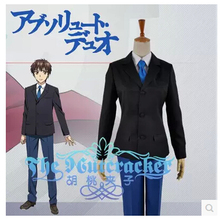 Free Shipping! Absolute Duo Kokonoe Toru Japanese School Uniform Cosplay