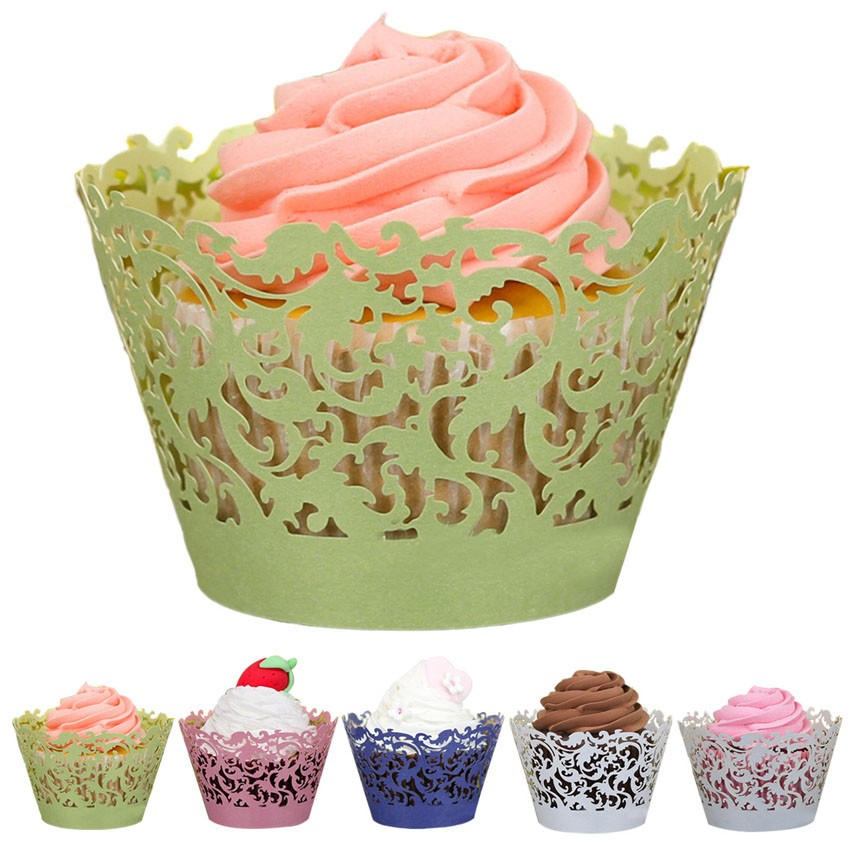 cupcake paper Cupcake liners for mini cupcakes, candy cups, standard or muffin, and jumbo cupcakes.