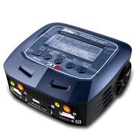 D100 V2 AC/DC двойная балансировка Зарядное устройство Dis Зарядное устройство/Питание США/ЕС Разъем для LiPo/LiFe/LiIon/LiHV/NiMH/NiCd/Pb Батарея