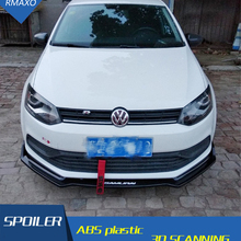 Для Volkswagen POLO обвес спойлер- для POLO EC ABS задний спойлер передний бампер диффузор защитные бамперы
