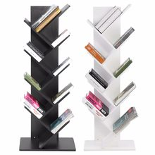Moderne innovative Stilvolle design 9-Tier Bücherregal Bücherregal Bücher Lagerung Rack Regal Organisation Schrank(China)