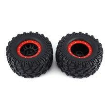 цены 2PCS AUSTAR 3013R Wheel Rim Tire for Redcat Hsp Kyosho Hobao Hongnor Team Losi GM HPI 1/8 Truggy Monster Truck 17mm Hex