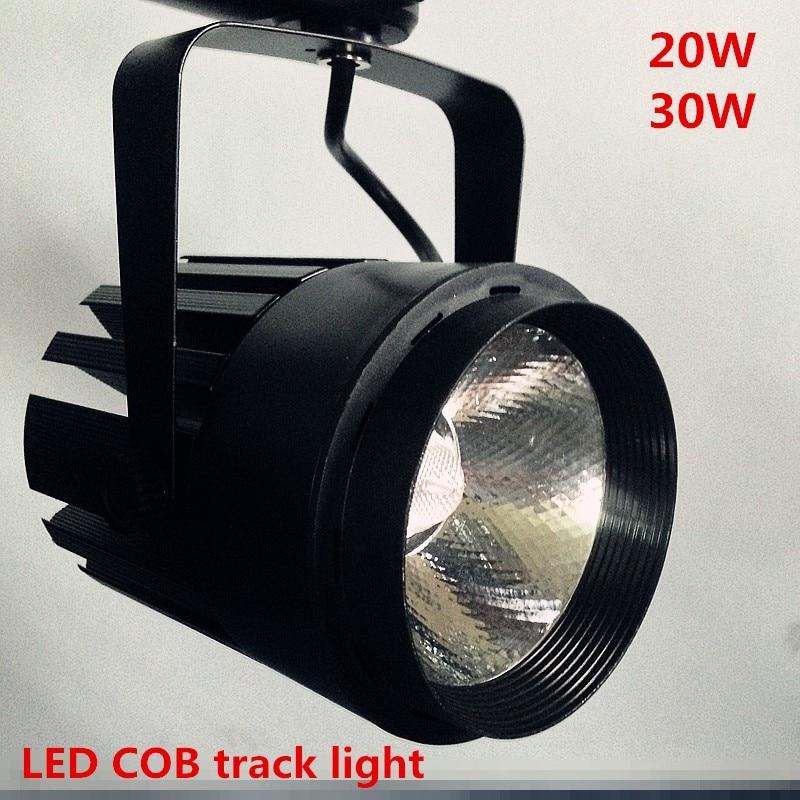 20w Led Wall Light: 20W COB LED Track Light Bulb Spot Light AC110V 220V 230V